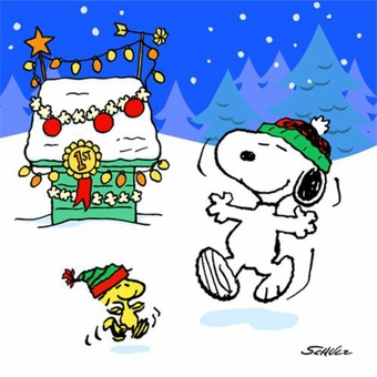 Snoopy Christmas page